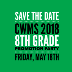 2018 Promo Party Save the Date
